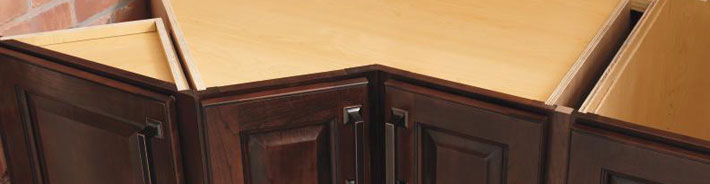 Top Of Cabinets Without Countertops
