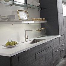 Tranter kitchen cabinets with clean lines