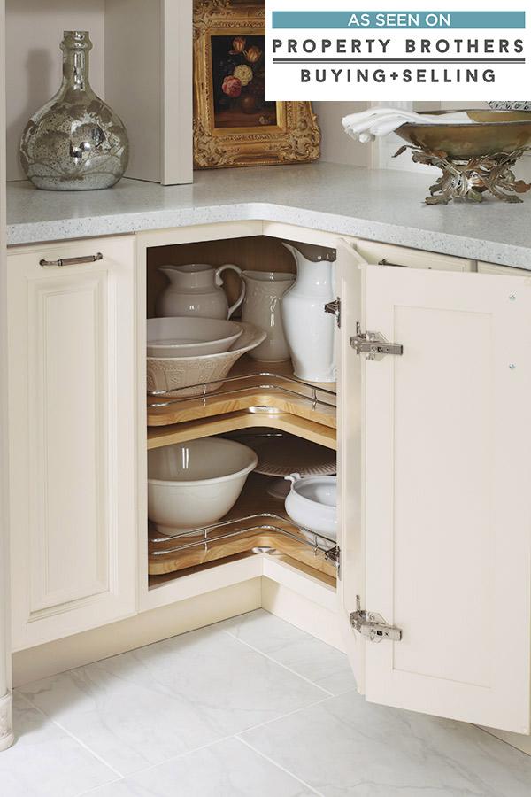 Base Super Lazy Susan Cabinet Diamond Cabinetry