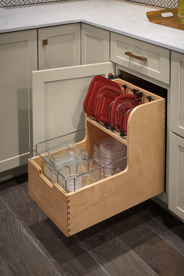 Base Container Organizer Cabinet - Diamond Cabinetry