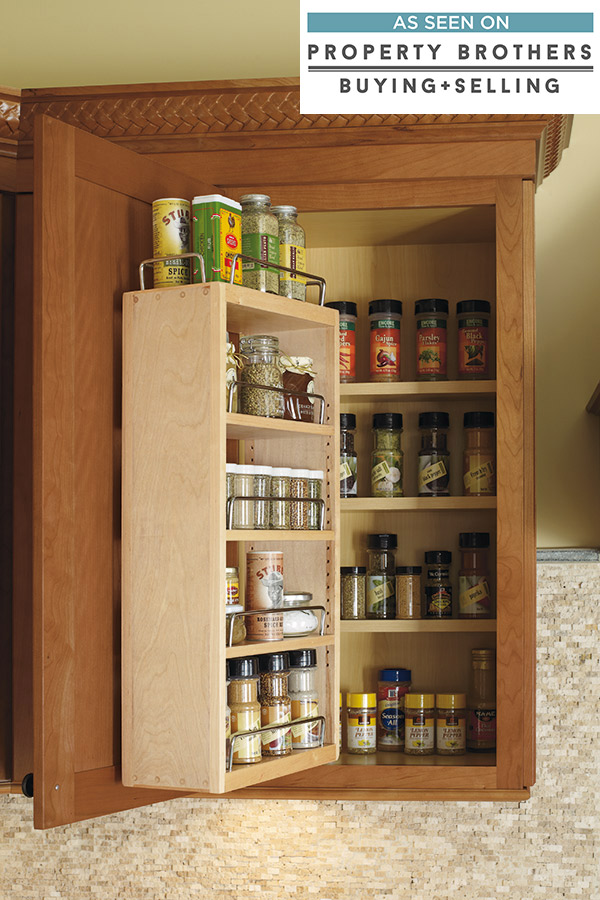 kitchen cabinets spice rack pull out wall spice rack cabinet cabinetry 21209