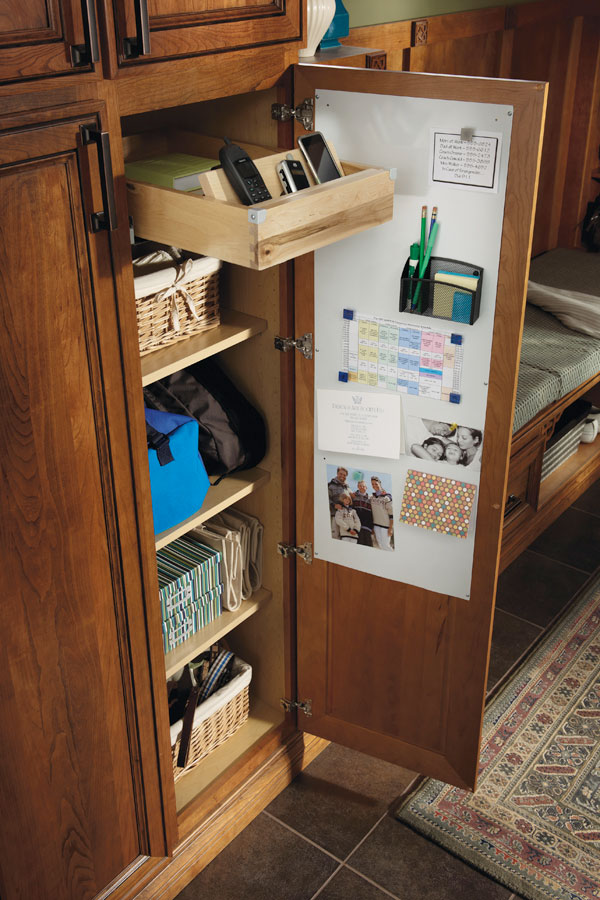 Utility Drop Zone Cabinet Diamond Cabinetry