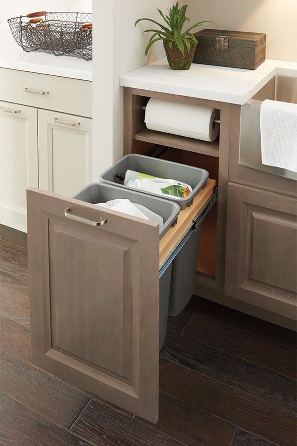 Base Paper Towel Cabinet - Diamond Cabinetry
