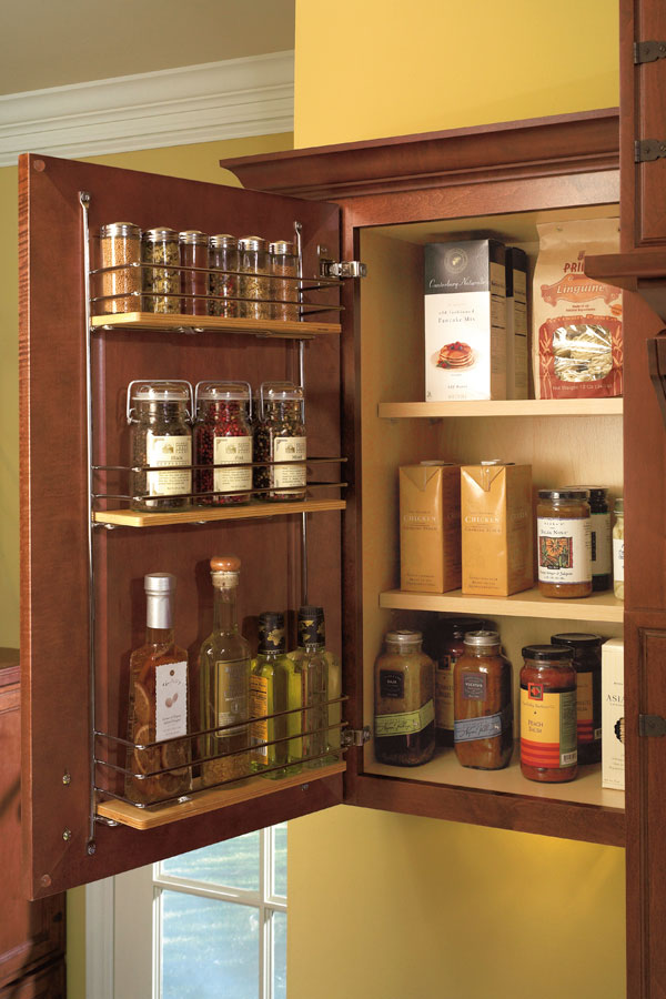 Wall Easy Access Storage Cabinet; 3PullDownSpiceMCldS3Badge Pull Down Spice  Rack; 3SpiceRackCSahS2Badge