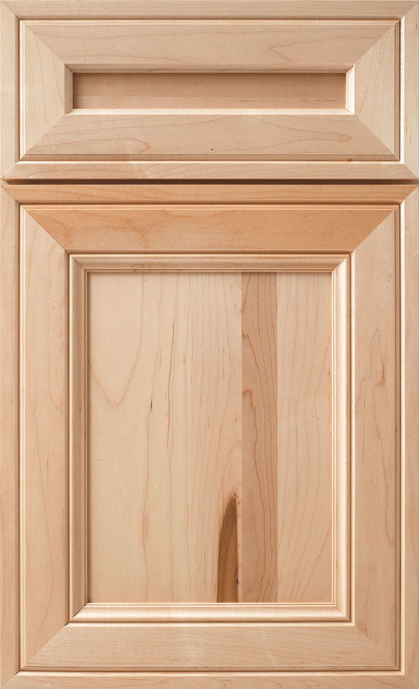 Natural Cabinet Finish On Maple Diamond Cabinetry