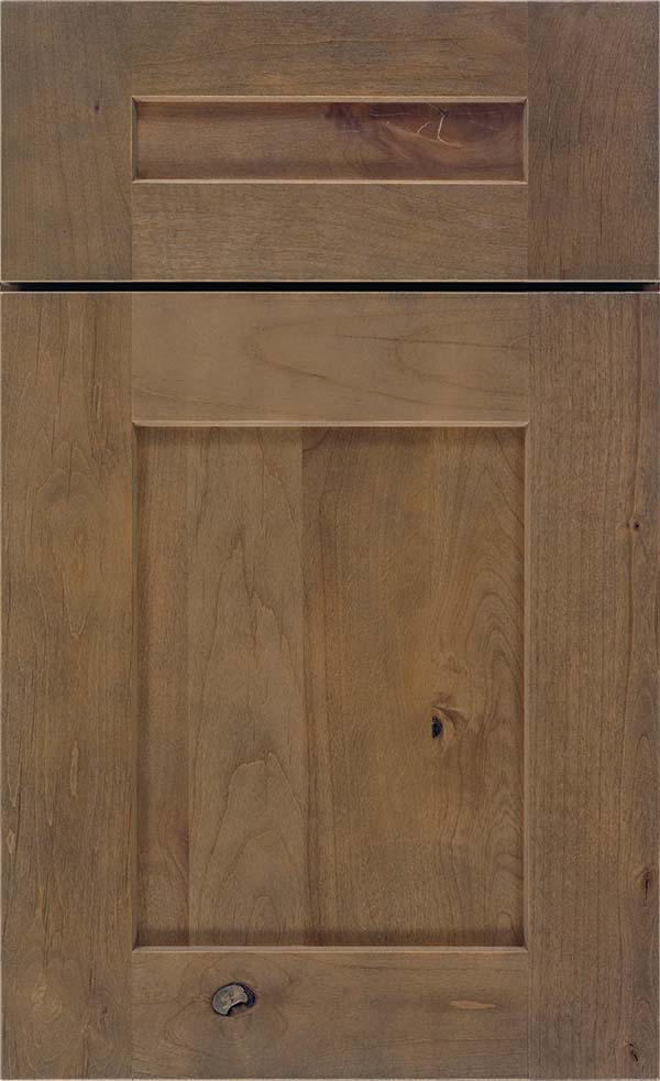Morel Cabinet Stain On Rustic Alder Diamond Cabinetry