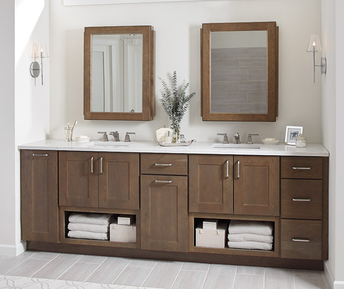 bathroom shaker cabinets vanity mirror cabinet with side pullouts 11641