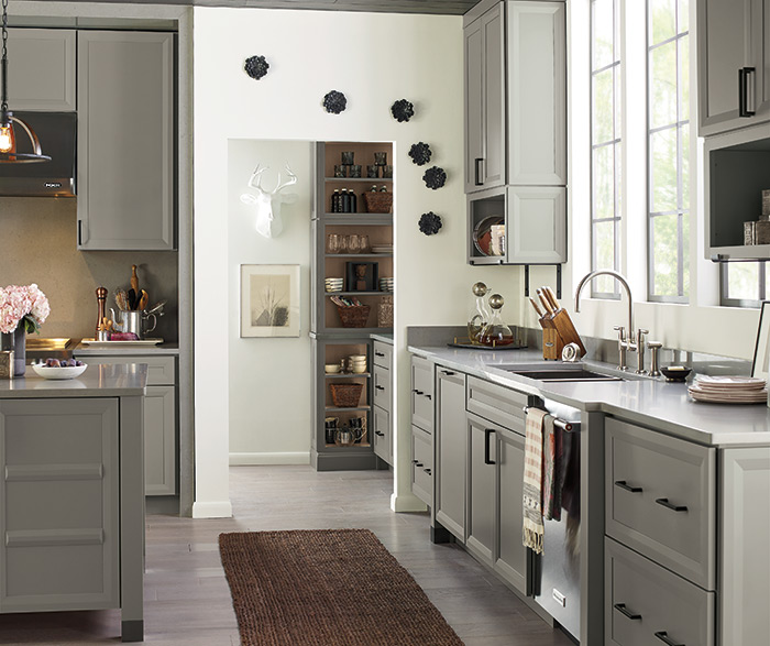 Transitional Kitchen in Neutral Color Palette
