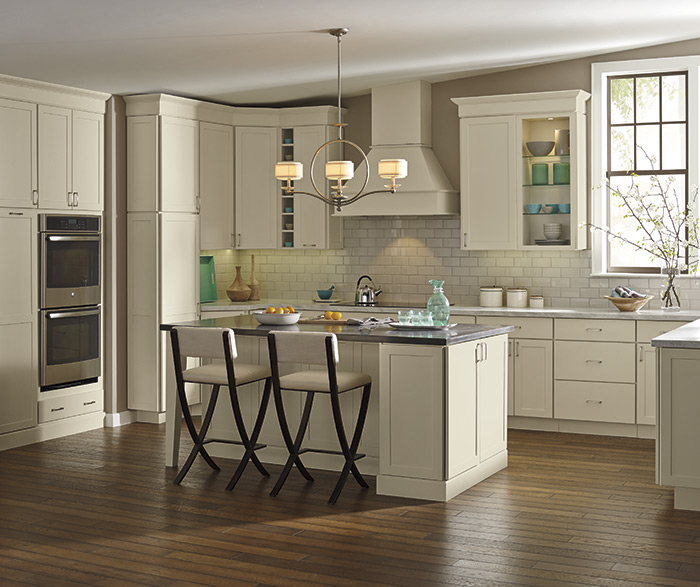 Off-White Transitional Shaker Kitchen