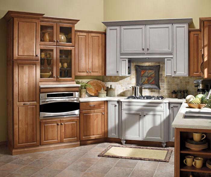 Nice Carson Alder Kitchen Cabinets ...
