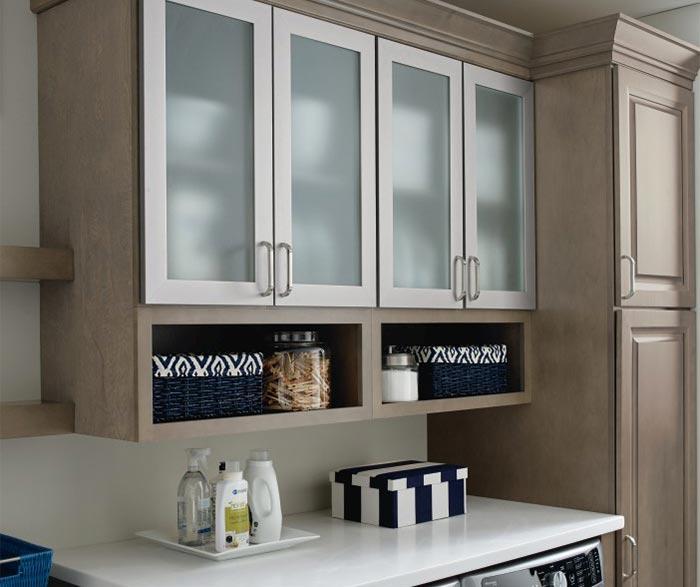 ... Close Up Of Aluminum Frame Cabinet Doors In Laundry Room;  DavisCSeaWellsMEgrWortheLElkK; DavisCSeaWellsMEgrWortheLElkK2;  DavisCSeaWellsMEgrWortheLElkK3 ...