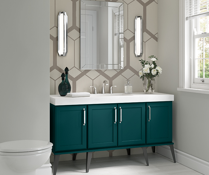 On-Trend Bathroom Vanity