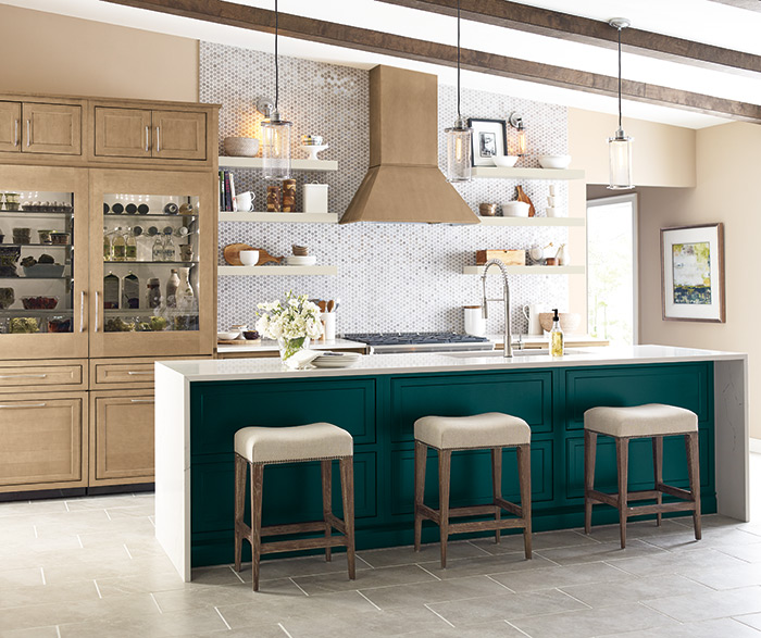 On Trend Transitional Kitchen