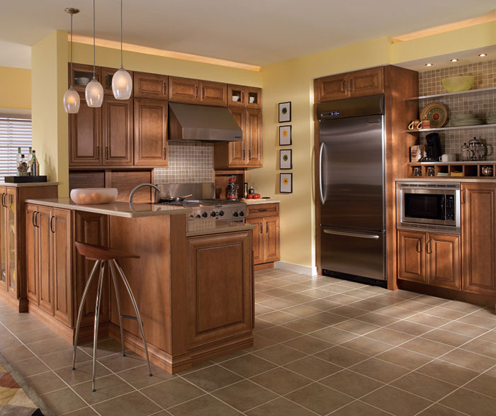 Superb Craft_room_cabinets; Maple Cabinets In Medium Finish By Diamond Cabinetry  ...