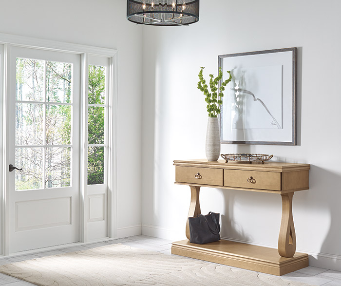 Montgomery entryway table in Maple Buckskin