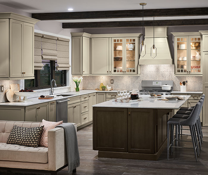 Off White Shaker Kitchen Cabinets Diamond Cabinetry