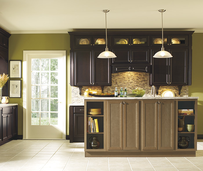 Two-Toned Traditional Kitchen