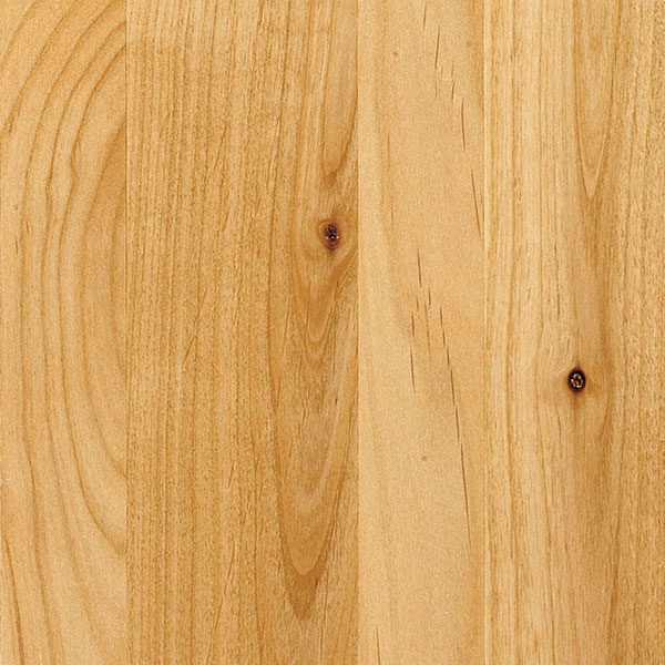 Natural Cabinet Finish On Rustic Alder Diamond Cabinetry