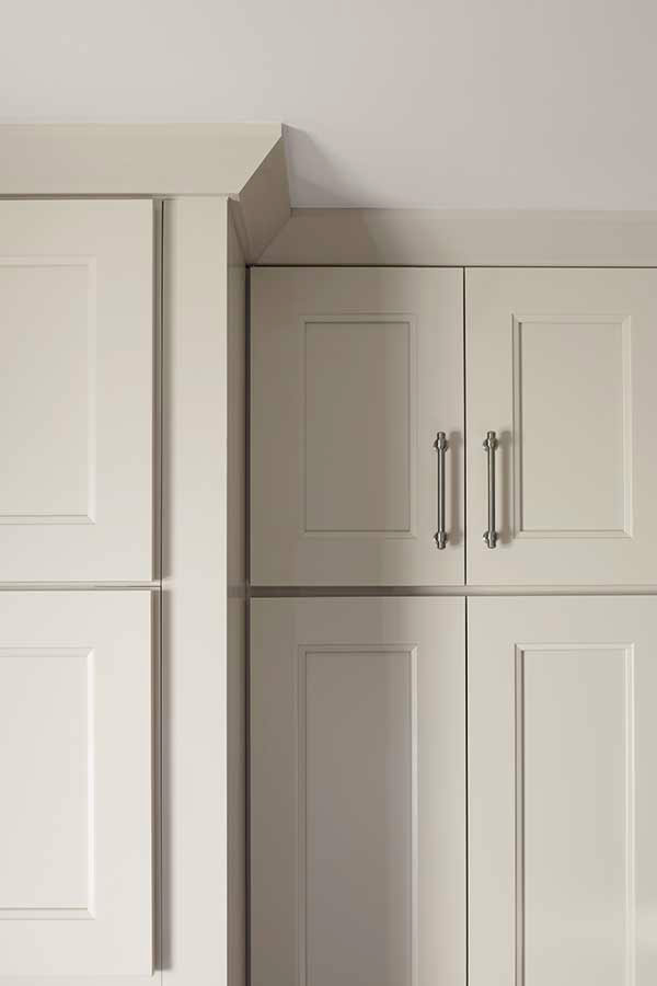 Shaker Crown Molding Kitchen Cabinets