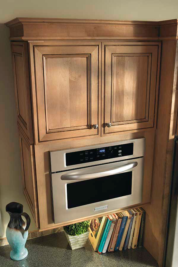 Microwave cabinet diamond cabinetry for Diamond kitchen cabinets