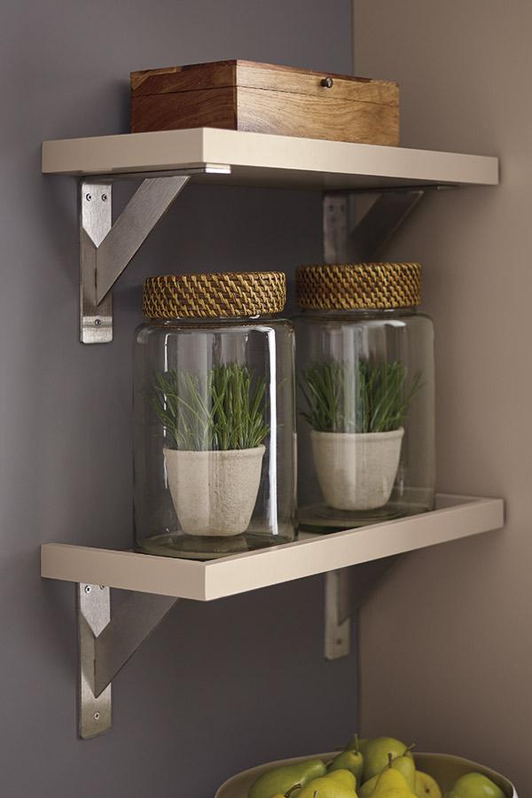 tray shelves - wall shelving