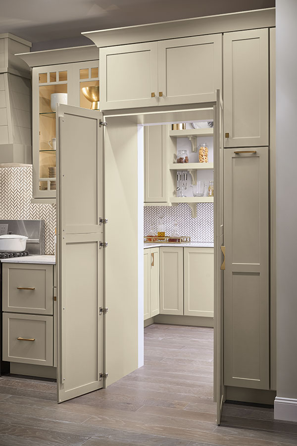 Pantry Walk Through Cabinet Diamond Cabinetry