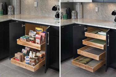 Flexibility. Cabinets ...