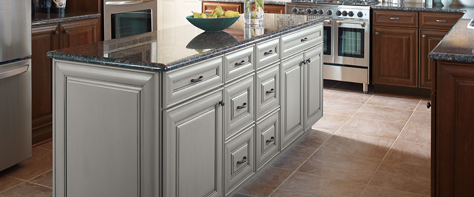 Laurel_cabinets_kitchen_island. Wells Kitchen Cabinets ...