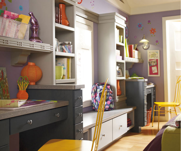Casual bedroom cabinets by Diamond Cabinetry